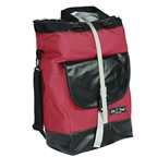 Lone Peak Dome Peak Grocery Pannier Large (single) Red Black 10mm Hooks