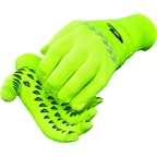 DeFeet Duraglove ET Glove: Hi-Vis Yellow with Reflector