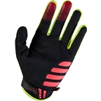 Fox Racing Unabomber Men's Full Finger Glove: Neo Red
