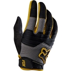 Fox Racing Sidewinder Men's Full Finger Glove: Gold