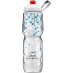 Polar Bottles Insulated Water Bottle with ZipStream Cap: 24oz, Break Away Blue
