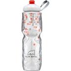 Polar Bottles Insulated Water Bottle with ZipStream Cap: 24oz, Break Away Orange