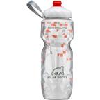 Polar Bottles Insulated Water Bottle with ZipStream Cap: 20oz, Break Away Orange