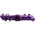 """Race Face Chester Composite Platform Pedal: 9/16"""" Purple"""