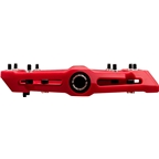 """Race Face Chester Composite Platform Pedal: 9/16"""" Red"""