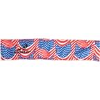Headsweats Eventure Reversible Headband: USA Flag/Red