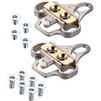 Xpedo XPR Cleat Set for 3-hole Bolt Pattern Adapts to Shimano SPD-Style Cleat