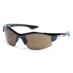 Serfas Aileron Sunglasses, Gloss Black Interchangable Lenses