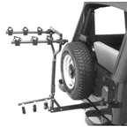 Hollywood Racks Road Runner Hitch Rack for Vehicles with an External Spare Tire