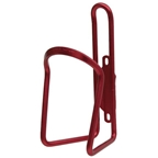 Planet Bike Alloy 6.2mm Water Bottle Cage: Red Anodized