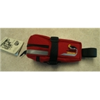 Jandd Hurricane Mini Mountain Wedge Seat Bag: Red
