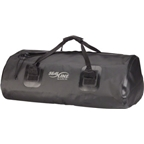 Seal Line Zip Duffle Bag: 40 Liter; Black