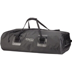 Seal Line Zip Duffle Bag: 75 Liter; Black