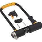 "OnGuard Bulldog Combo U-Lock: 4.5 x 9"""