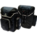 Axiom Randonee Aero 60 Pannier Set: Black