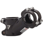 "Dimension Threadless Road Stem: 60mm; 125 Degree; Black; 26.0; 1-1/8""; 26.0"
