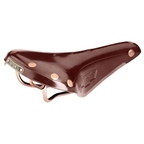 Brooks B17 Special Antique Brown with Copper Rails
