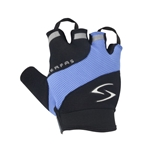 Serfas Men's Zen Short Finger Gloves - Blue - Small