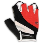 Serfas Men's Zen Short Finger Gloves - Red - Small