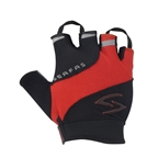 Serfas Men's Zen Short Finger Gloves - Red - Medium