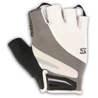 Serfas Men's Zen Short Finger Gloves - White - Medium