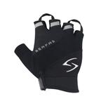 Serfas Men's Zen Short Finger Gloves - Black - XX-Large