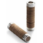 Brooks Plump Leather Ring Grips - Brown