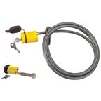 Saris 984 Locking Cable W/locking Hitch Pin