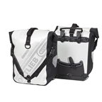 Ortlieb Sport-Roller Classic (pair) White-Black (Formerly Front-Roller Classic)