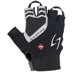 Serfas Men's RX Short Finger Gloves, Black