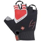 Serfas Men's RX Short Finger Gloves, Red