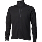 Ibex Men's Shak Classic Full Zip Sweater: Black