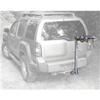 Kuat Alpha 3-Bike Mast Hitch Rack: Black/Chrome - OPEN BOX SPECIAL