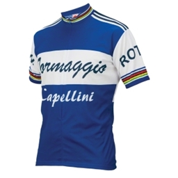World Jerseys Formaggio 1960 Retro Team Jersey - Blue