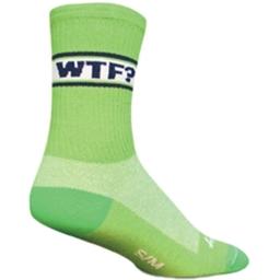 SockGuy Crew Cuff Socks - WTF