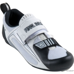 Pearl Izumi Men's Tri Fly III Tri Shoes - White/Black