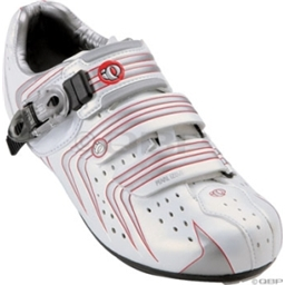 Pearl Izumi Women's Elite II Road Shoes - White/Silver Size 37
