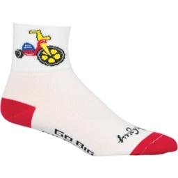SockGuy Classics Socks - Big Wheel