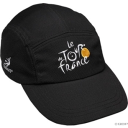 Headsweats Race Hat Le Tour de France Black