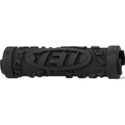 ODI Yeti Hard Core Lock-On Grip Bonus Pack, Black