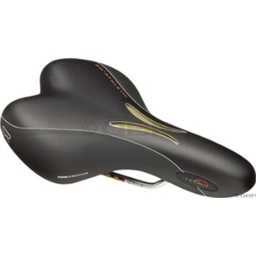 Selle Royal Lookin Gel Athletic Womens Blk ICS