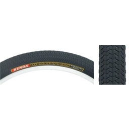 "Kenda Kiniption 26 x 2.3"" Black/Black Wire Tire"