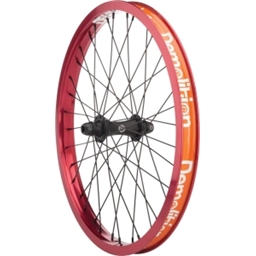Demolition Phantom 36h Front Wheel Black/Black/Red