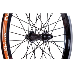 Demolition Phantom 36h Front Wheel Black/Black/Black