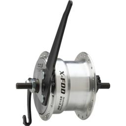Sturmey Archer Dynamo Drum Brake Front Hub 36h Silver