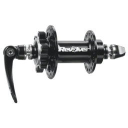 DMR Revolver Front Disc Hub 32h QR axle, Black