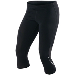 Pearl Izumi Women's Aurora Splice Run Knicker: Black