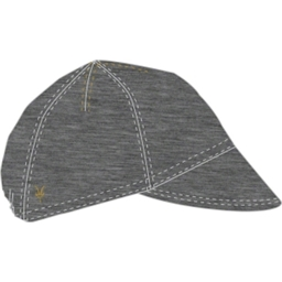 Ibex Muni Wool Cycling Cap: Charcoal Heather
