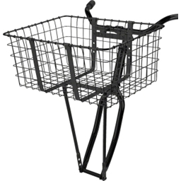 Wald 157GB Front Giant Delivery Basket: Gloss Black