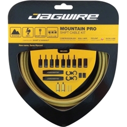 Jagwire Mountain Pro Derailleur Kit, Gold Medal